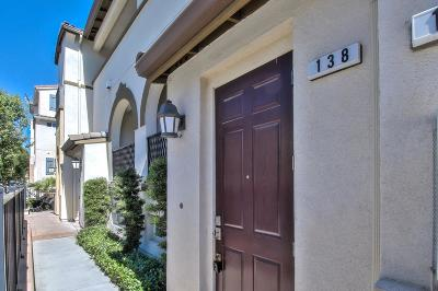 Milpitas Condo/Townhouse For Sale: 138 Parc Place Drive