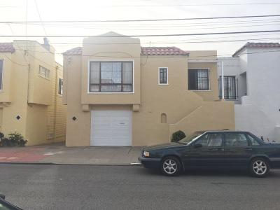 San Francisco Single Family Home For Sale: 180 Saint Charles Avenue