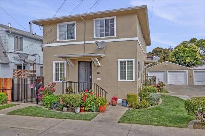 Oakland Multi Family Home For Sale: 1118-1120 54th Street