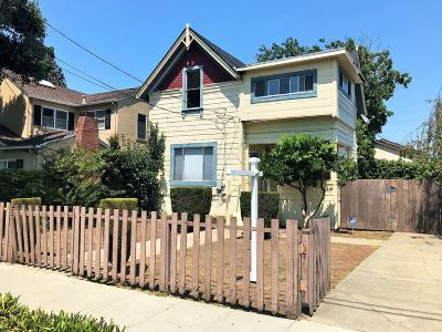 San Mateo Single Family Home For Sale: 114 N Claremont Street