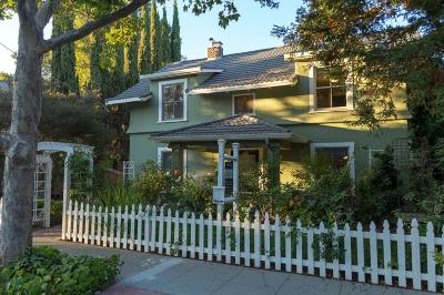 Palo Alto Single Family Home For Sale: 2053 Princeton Street