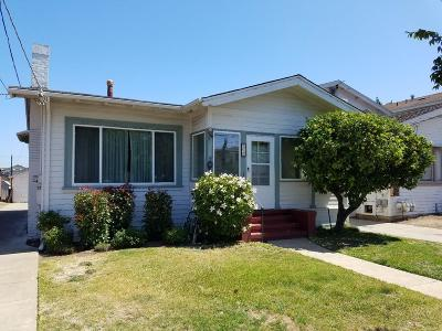 San Mateo Single Family Home For Sale: 521 S Fremont Street