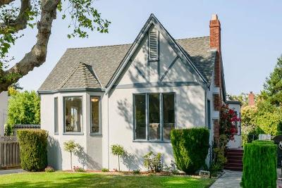 Burlingame Single Family Home For Sale: 1420 De Soto Avenue