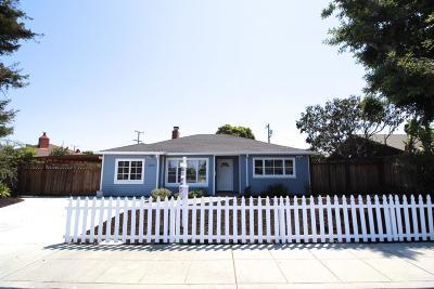 San Mateo Single Family Home For Sale: 1624 Dale Avenue
