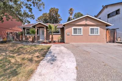 San Jose Single Family Home For Sale: 1182 Edith Street