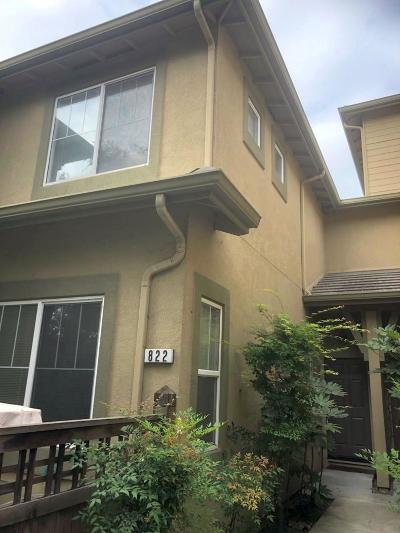 Milpitas Condo/Townhouse For Sale: 822 Fascination Place