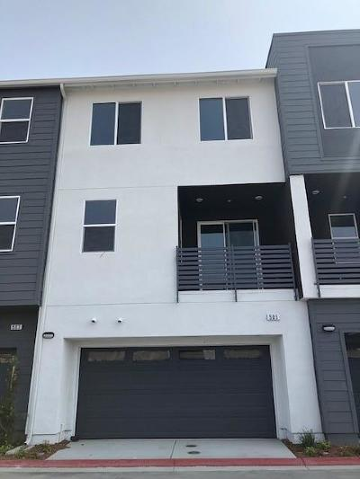 Milpitas Condo/Townhouse For Sale: 505 Clover Circle #Lot 97