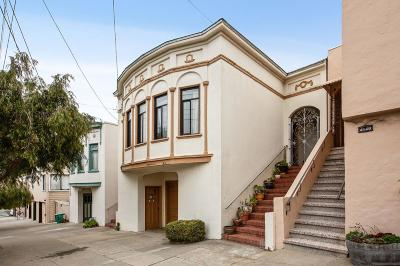 San Francisco Single Family Home For Sale: 4126 Cabrillo Street