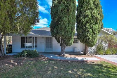 Santa Clara Single Family Home For Sale: 3085 Fresno Street