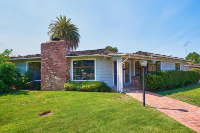 San Jose CA Single Family Home Pending: $1,095,000