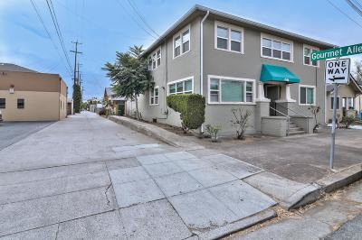 Gilroy Multi Family Home For Sale: 66 & 64 3rd Street