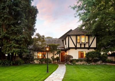 Palo Alto Single Family Home For Sale: 542 Center Drive