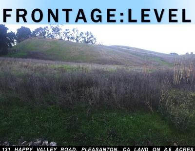 Pleasanton Residential Lots & Land For Sale: 131 Happy Valley Road