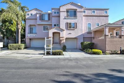 Milpitas Condo/Townhouse For Sale: 372 Montecito Way