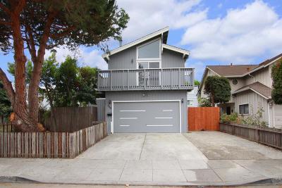 Santa Cruz Single Family Home For Sale: 135 Bixby Street