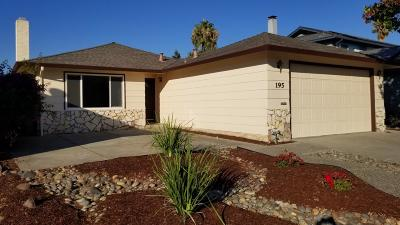 Milpitas Single Family Home For Sale: 195 W Capitol Avenue