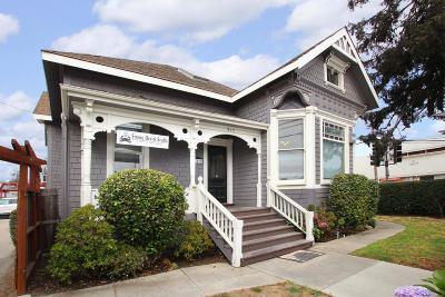 Santa Cruz Single Family Home For Sale: 915 River Street