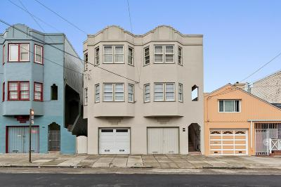 San Francisco Multi Family Home For Sale: 1391-1393 23rd Avenue
