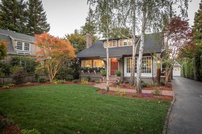 San Mateo Single Family Home For Sale: 518 Hurlingham Avenue