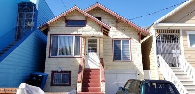 San Francisco Single Family Home For Sale: 668 E Girard Street