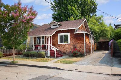 Santa Cruz Multi Family Home Pending Show For Backups: 418 Pennsylvania Avenue