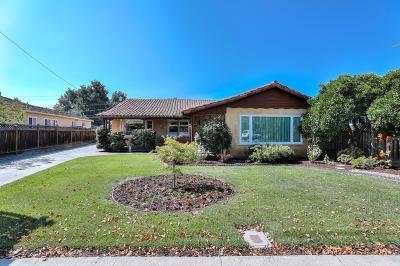 San Jose Rental For Rent: 1584 Santa Maria Avenue