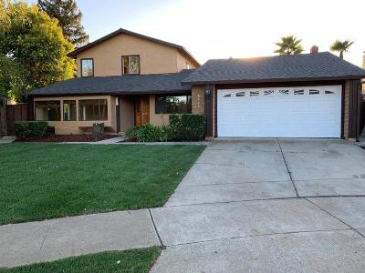 Gilroy Single Family Home For Sale: 6755 Stephan Court