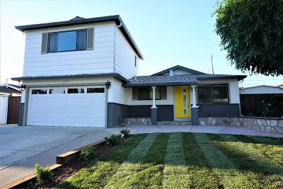 Milpitas Single Family Home For Sale: 329 Washington Drive