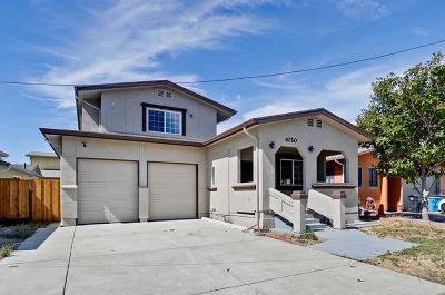Santa Clara Single Family Home For Sale: 1605 Chestnut Street