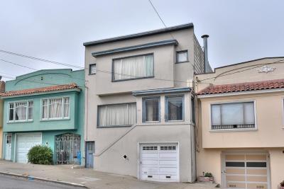San Francisco Multi Family Home For Sale: 542 Paris Street