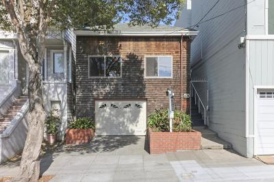 San Francisco Single Family Home For Sale: 424 Arlington Street