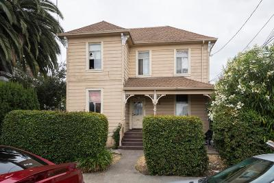 San Mateo Single Family Home For Sale: 61 N Claremont Street