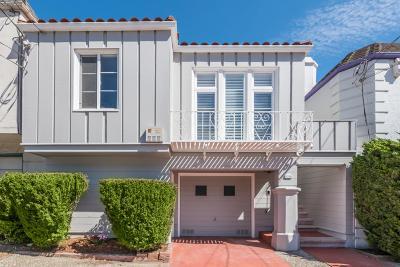 San Francisco Single Family Home For Sale: 1618 36th Avenue