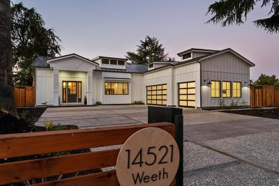 San Jose Single Family Home For Sale: 14521 Weeth Drive