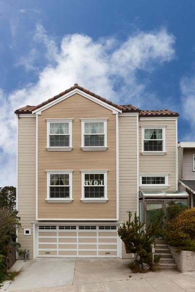 San Francisco Single Family Home For Sale: 650 Ortega Street