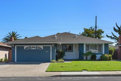 Santa Clara Single Family Home For Sale: 3510 Earl Drive