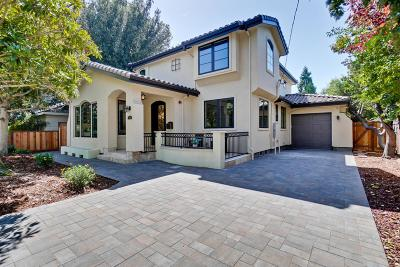 Palo Alto Single Family Home For Sale: 3650 Ross Road