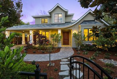 Palo Alto Single Family Home For Sale: 1820 Bret Harte Street