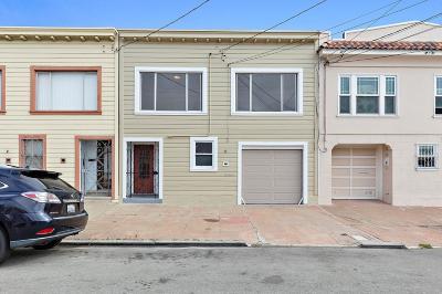 San Francisco Single Family Home For Sale: 2042 Carroll Avenue