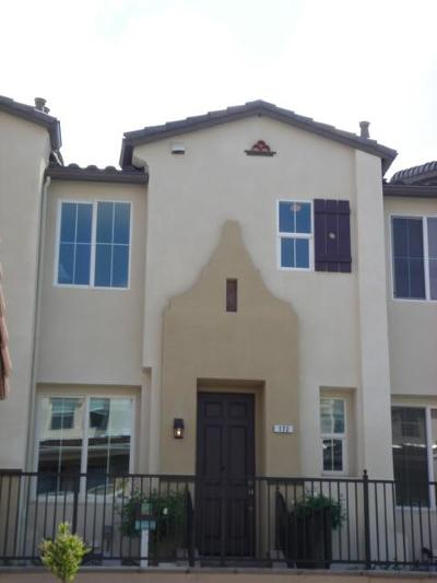 Milpitas Condo/Townhouse For Sale: 172 Parc Place Drive