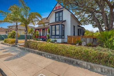 Santa Cruz Single Family Home For Sale: 615 Seabright Avenue