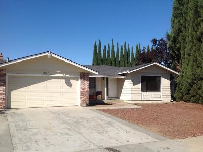 San Jose Single Family Home For Sale: 2719 Caraston Way