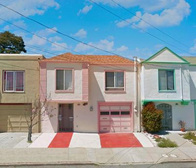 San Francisco Single Family Home For Sale: 136 Thrift Street
