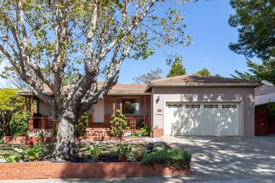 Burlingame Single Family Home For Sale: 139 Loma Vista Drive