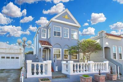 San Francisco Multi Family Home For Sale: 1358-1360 48th Avenue