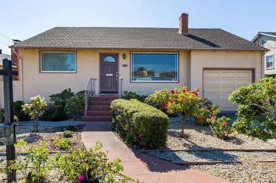 San Mateo Single Family Home For Sale: 605 Sylvan Avenue