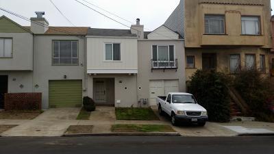San Francisco Single Family Home For Sale: 2350 30th Avenue