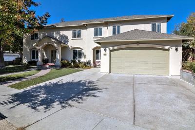 Gilroy Single Family Home For Sale: 9080 Ridgeway Drive