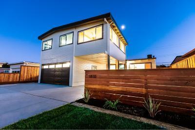 San Mateo Single Family Home For Sale: 1810 Church Avenue
