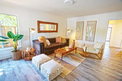 Palo Alto Single Family Home For Sale: 270 Chestnut Avenue
